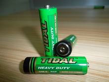 Super Heavy Duty battery 1.5V AA Carbon ZInc battery