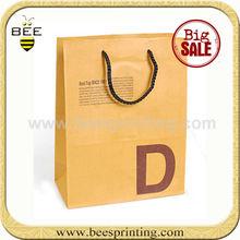 christmas paper bag, paper potato bags, paper bags flame retardant