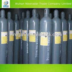 Sale 99.999%high purity dry HCL,hydrochloric acid gas