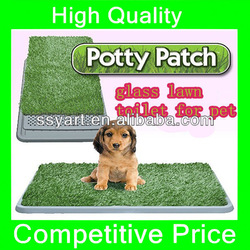 2013 Hot selling best drainability ! artificial grass dog/pet mat , indoor toilet