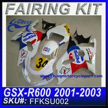 Aftermarket Fairing For SUZUKI GSXR750 GSXR 600 2001-2003 PESI FFKSU002