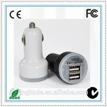 Manufacturer for ipad, mobile phone 5V 2.1A 5V 1A Dual usb car charger