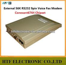 full test OEM/ODM design Win7 14,400bps Support 56K External Voice 9pin hspa usb unlock RS232 port FAX Modem