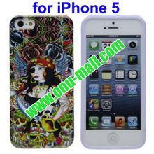 Priate Queen! For iPhone 5 Special Design TPU Case