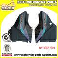ybr125 moto peças tampa lateral