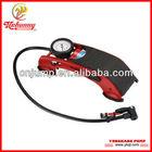 foot air pump to inflate bicycle, car foot pump , foot tire pump