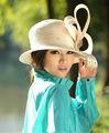 las mujeres de moda los sombreros sombreros de la iglesia para la fiesta