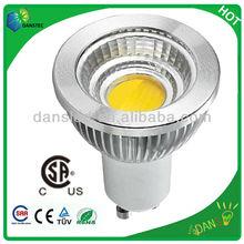 csa ul gu10 led 5w cob spotlight ceramic pcb
