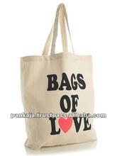 Organic Cotton Calico Bags