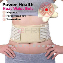 Breathable tourmaline magnetic lumbar support /waist support(20 magnets outlet ,CE&FDA approved)
