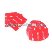 For Gopro 3M Sticker Set Helmet Mount (3pcs for flat, 3pcs for arc mount) ADK-GP14