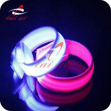 Event & Party decoration custom wristband bracelet glow in the dark