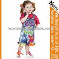 Moda çocuk aşınma güzel çocuk denim kot tulum( hyk552)