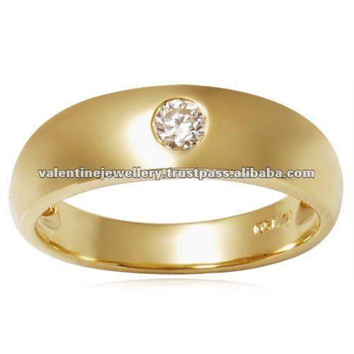 gold bands and nickel free wedding rings, 18 carat yellow gold wedding rings