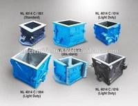 Cast Iron Cube Moulds
