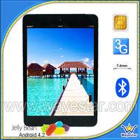 3G Phone Calling Mini Smart Pad MTK 6589 with 7.85 Inch