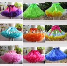 newborn baby petit skirt fluffy tutu skirt for girls tutu dress/ tutu skirt/ lalaloopsy wholesale pettiskirts
