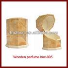 Wholesale Funky Wooden Perfume Box Packaging