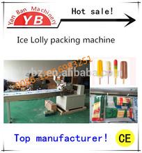 YB-250 Good Price Automatic Ice Cream Stick/ Bar Packing Machine / 0086-13916983251