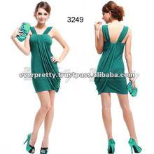 03249GR Stunning Green Mini Cocktail Dresses