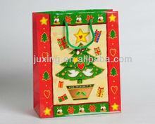 popular custom christmas candle bag