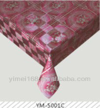 Hot seal waterproof and oilproof plastic tablecloths