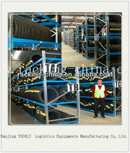 Warehouse Auto Tire Racking 4S Store Selective Beam Tyre Rack