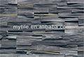 Venda quente MSH-01 preto quartz faux pedra cultural