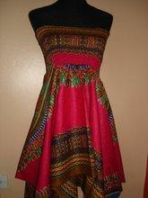 Dashiki Dress Top