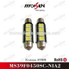 Superior quality 39mm automotive led, Festoon Led Auto Lamp