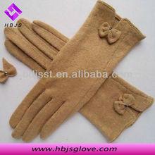 custom sex women's wool gloves for lady