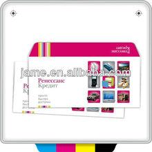Guangzhou fábrica envelopes coloridos para imprimir