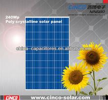 240w thin film solar panel,240w poly crystalline solar panel for 1kw solar panel