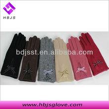 all kinds of wool winter gloves custom logo