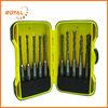 10pcs SDS drill bit set , two plastic case