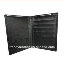 branded leather passport holder wallets