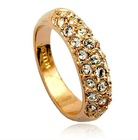 Crystal Ring Fashion Ring Costume Jewellery Fashion Jewelry-R105