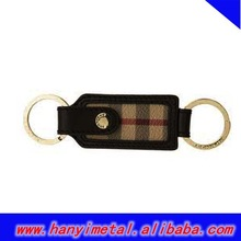 Fashion burberry key chain