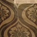 Jacquard cuisine motifs rideaux avec cantonnière