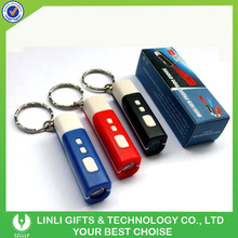 high quality led light projector keychain