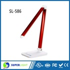 Bedside table lamp touch lamp 12V dimming folding with patent design