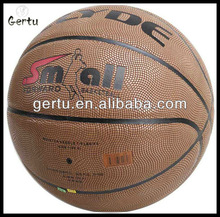 Official Size 7 PU leather laminated basketball