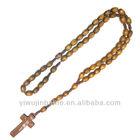 Wooden Rosary Bead Necklace,Custom Wood Bead Necklaces,Free Rosary Bead Necklace