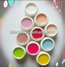 clean solid color soak off LED UV gel