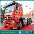 De alta calidad de china tractor 6x4 tirando del carro/acoplado