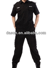 Guardia de seguridad ropa, guardia de seguridad uniforme