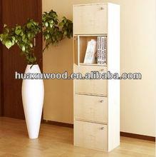 HXSL MDF furniture PB furniture Laminated furniture Book cabinet Book shelf