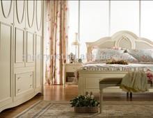 Best selling bedroom set,countryside bedroom,rattan headboard,elgant bedroom sets
