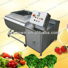 800kg per hour full automatic vegetable and fruit washing machine