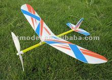 Sky Boy-Rubber powered foam glider flying toys